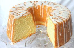 pound cake al moscato